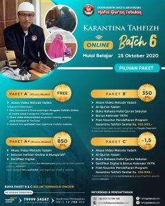 FLYER-TAHFIZH-ONLINE-BATCH-6